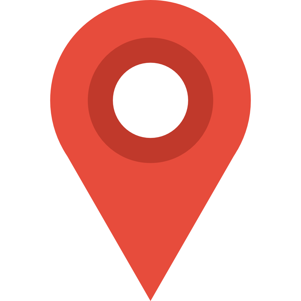 Red circle marker png. Map icon small flat