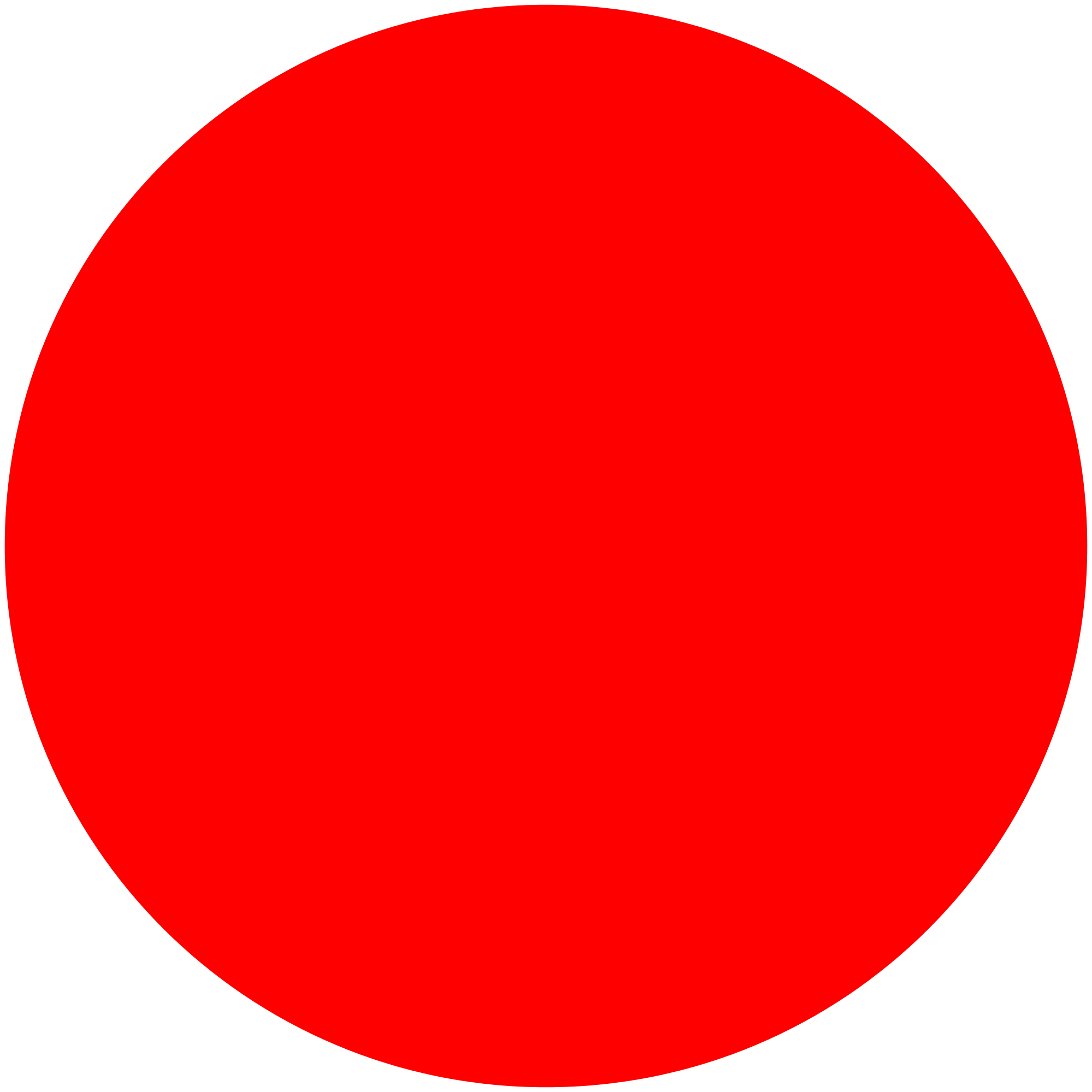 Red circle png. Transparent stickpng