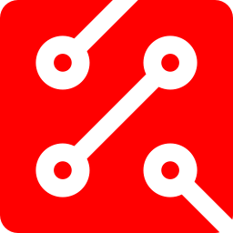 Red circuit png. Free icon download