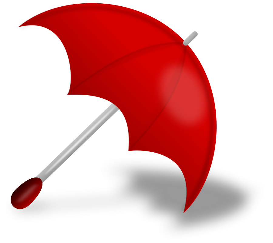 Umbrella clipart clear background. Free red phone cliparts