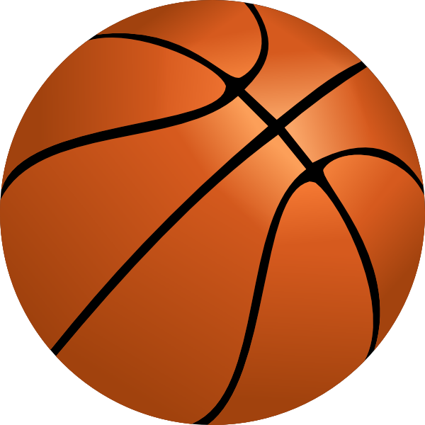 Red clipart basketball. Free at getdrawings com
