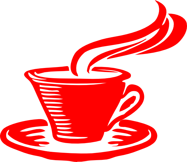 Red clipart coffee. Star clip art at