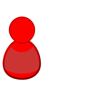 Red clipart person. Icon cliparts of free