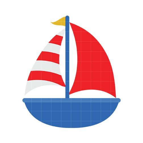 Red clipart sailboat. Cute panda free images