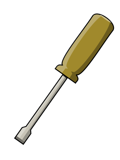 Screwdriver clipart straight blade. Free cliparts download clip