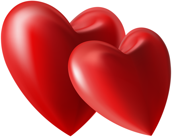 Two Hearts Clipart at GetDrawings