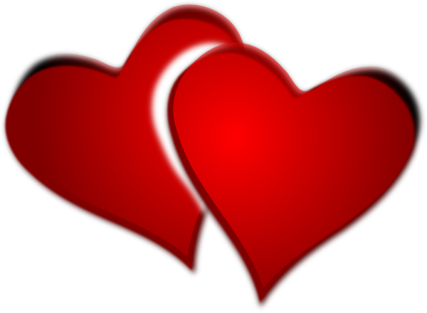 two hearts png