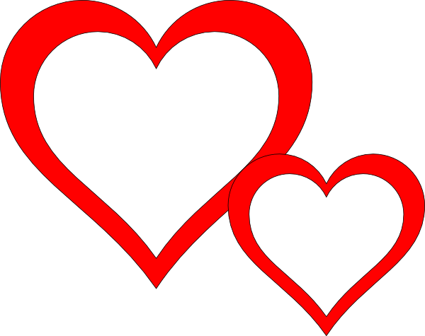 Two hearts png. Clipart panda free images