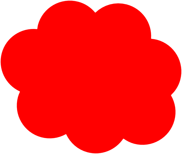 red clouds png