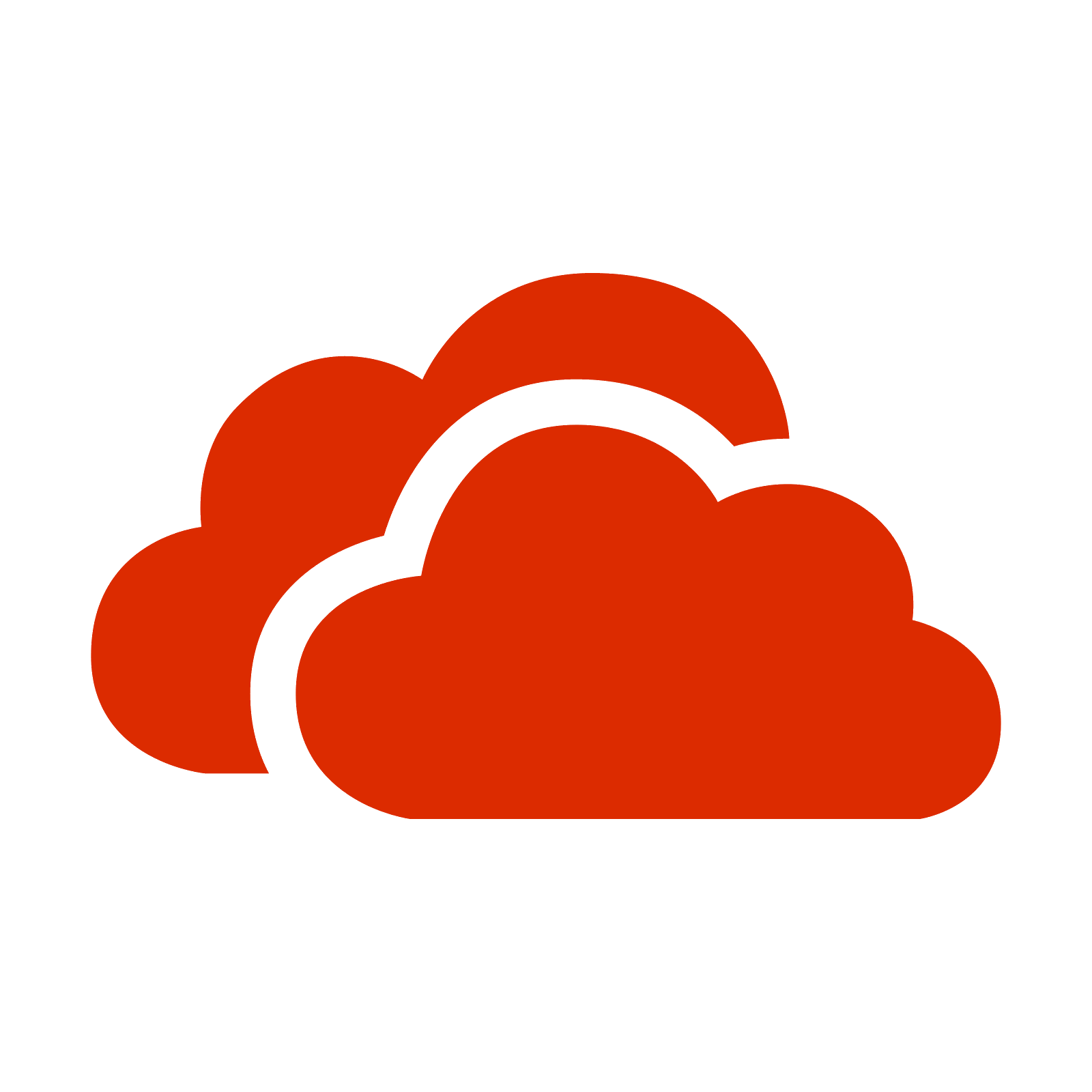 Red color png. Onedrive icon free download