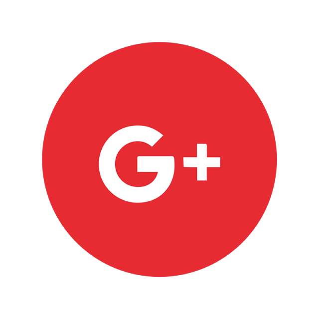 Red color png. Google plus icon and