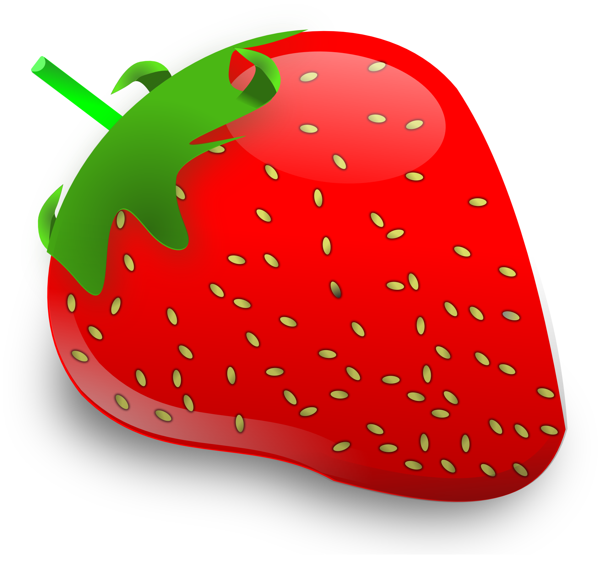 Red color png. Strawberry image purepng free