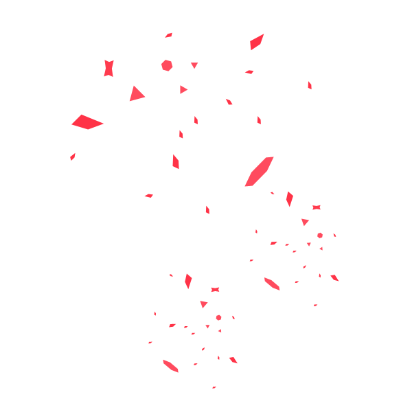 Red confetti png. Paper transprent free download