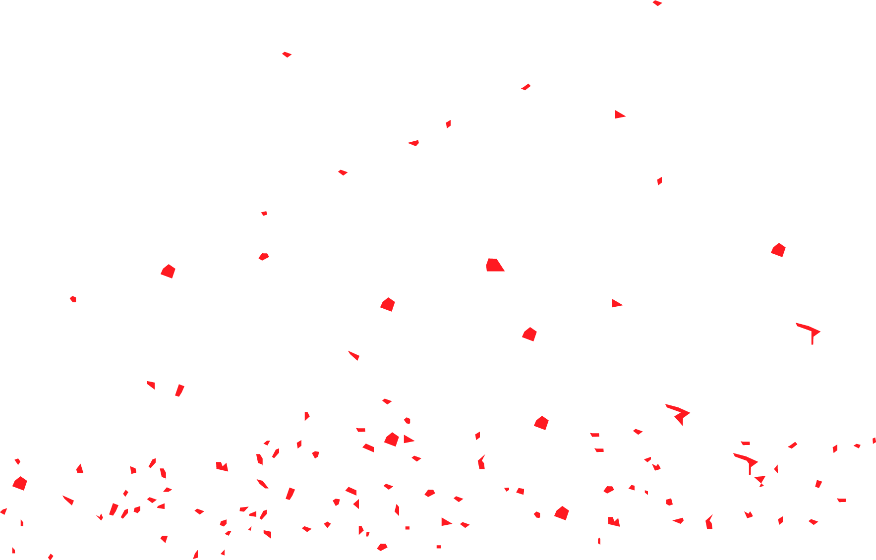 Red confetti png. Cake clip art transprent