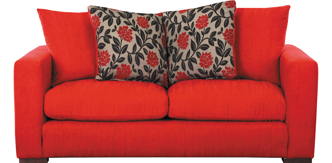 Transparent couch red. Sofa png images free