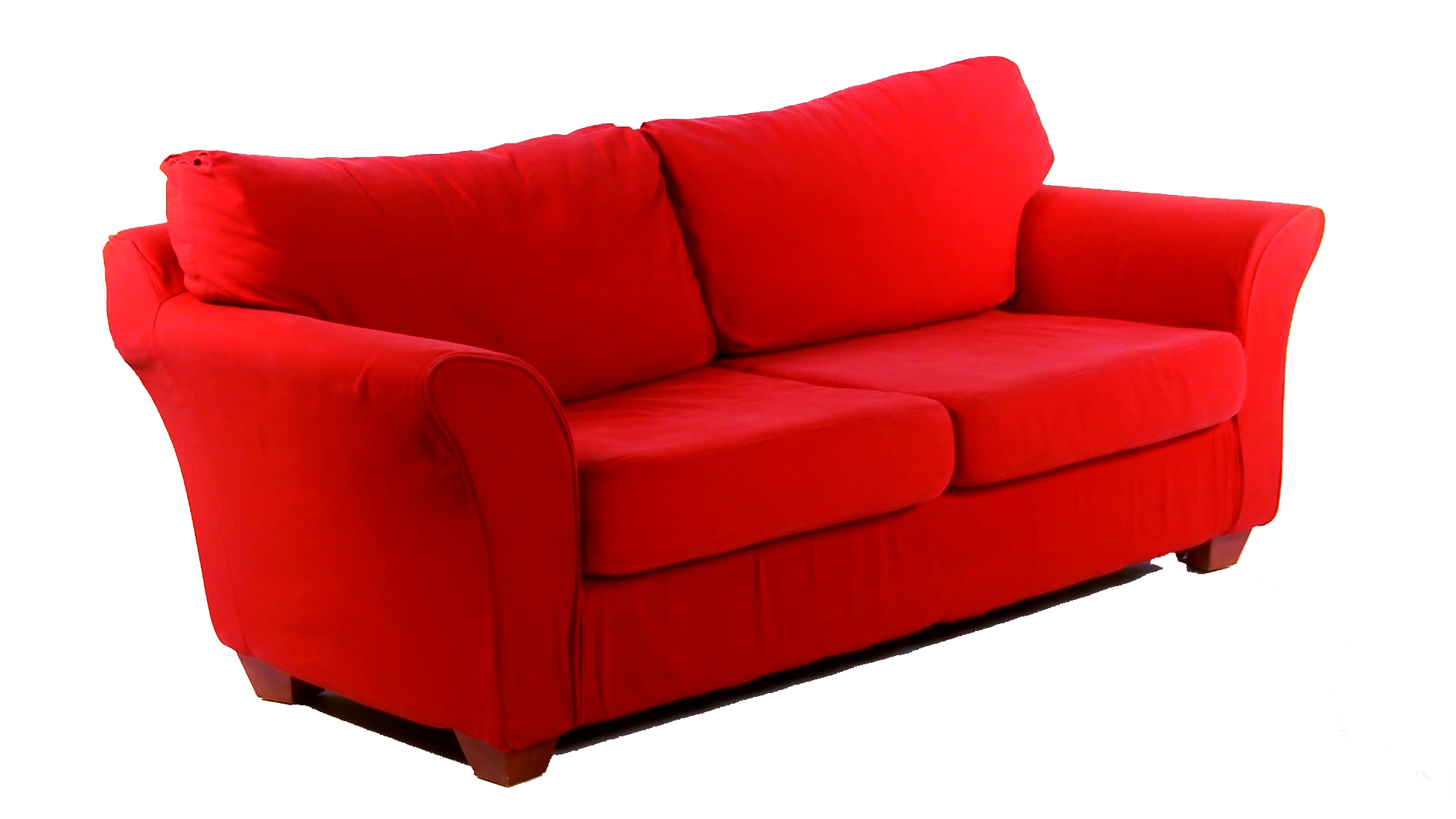 Red couch png. Campaign kicking off in