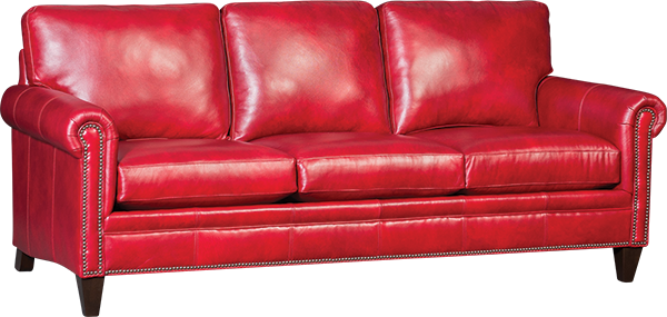 Red couch png. Mayo leather upholstery l