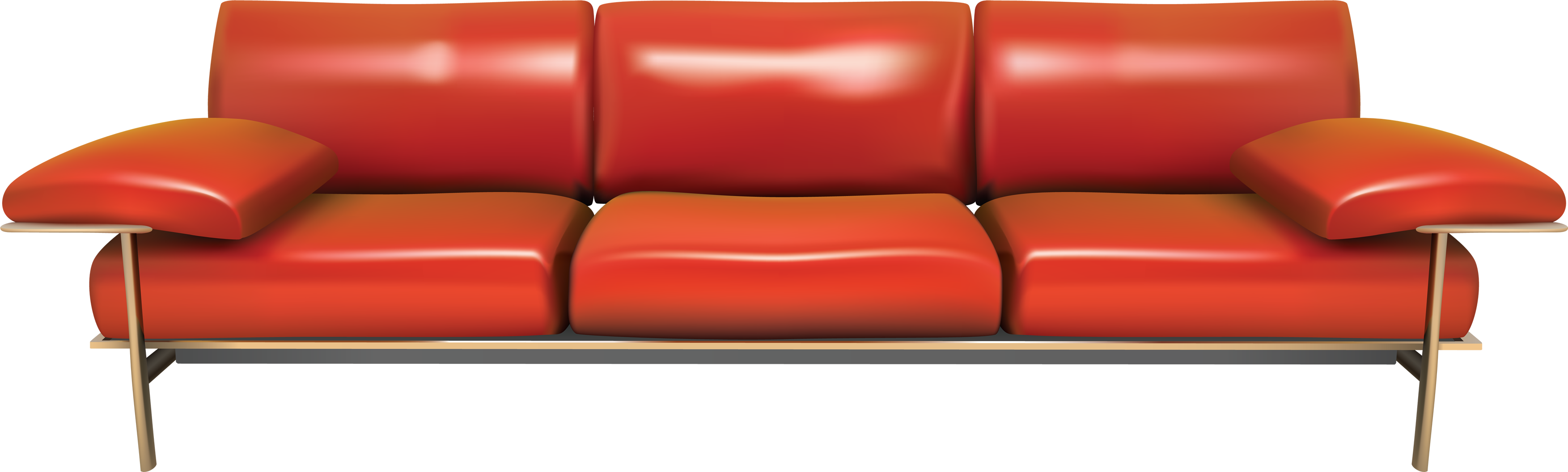 Red couch png. Sofa images free download