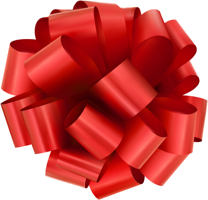 Red coupon png. Mothers day ribbon gift