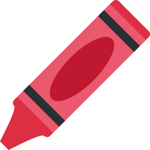 Red crayon png. Free education icons icon