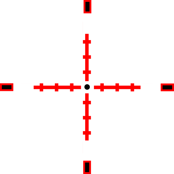 red crosshairs png