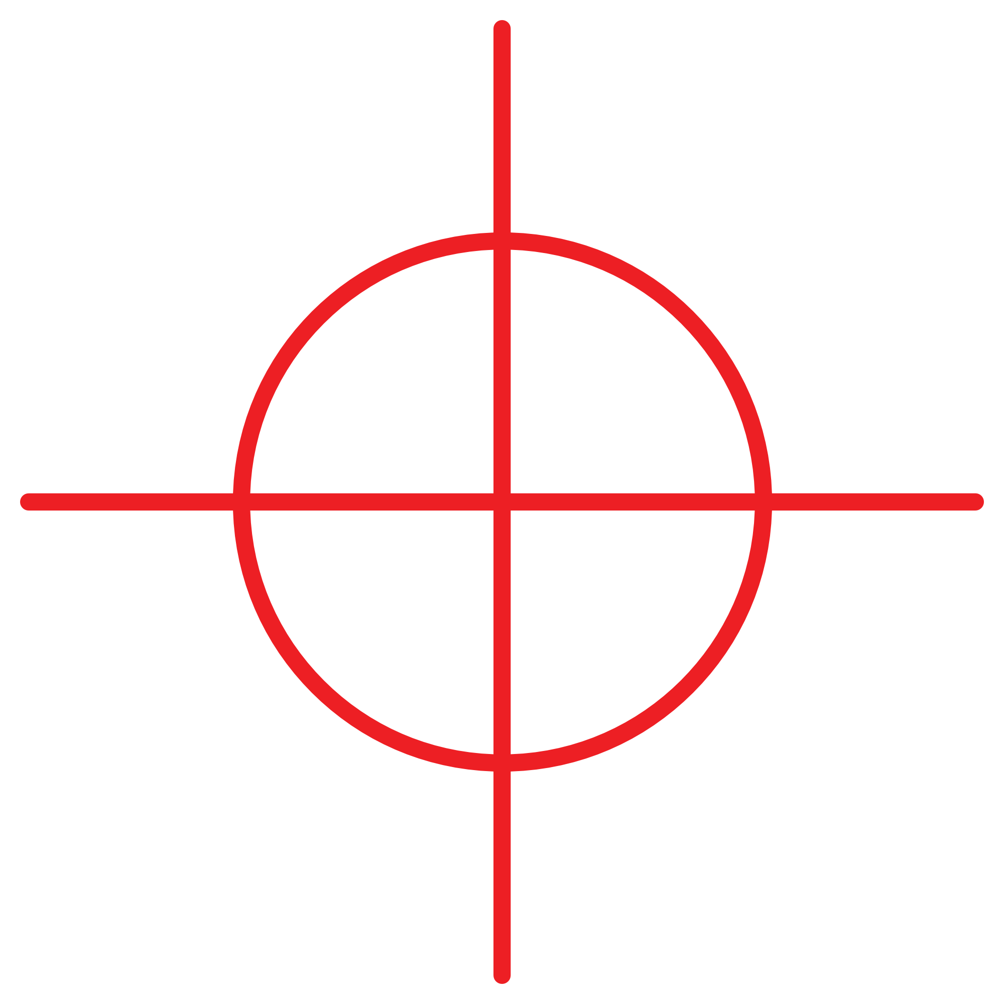 Red crosshair png. Transparent image pngpix resolution