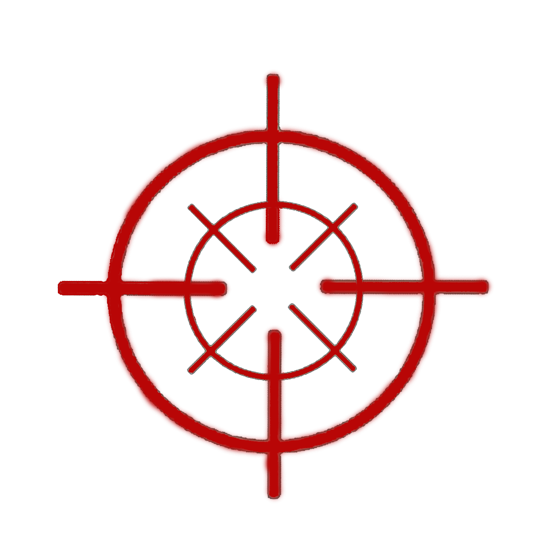 Red crosshair png. Logos