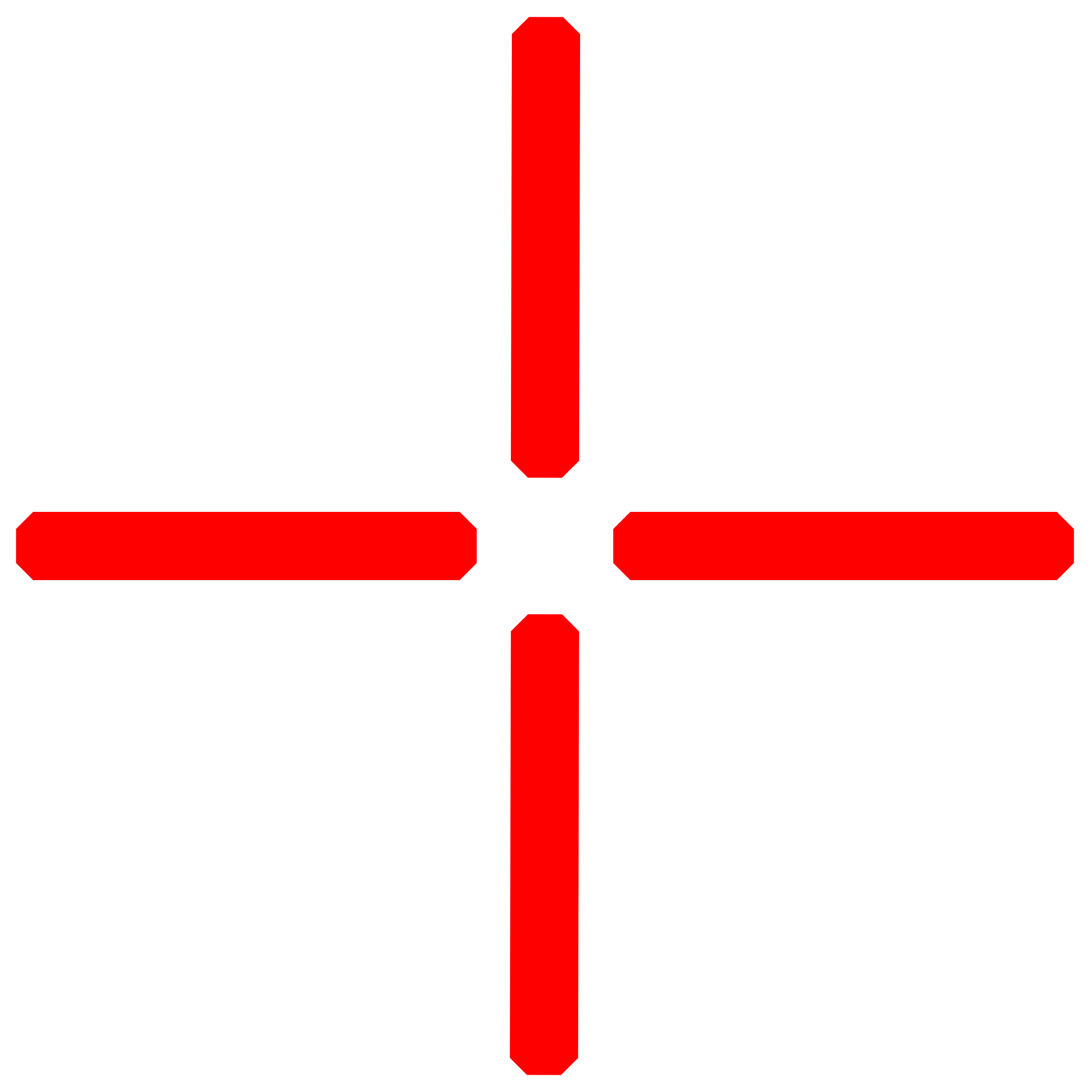 Red crosshair png. Center icons free and