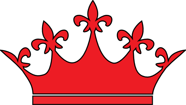 Red crown png. Queen clip art at
