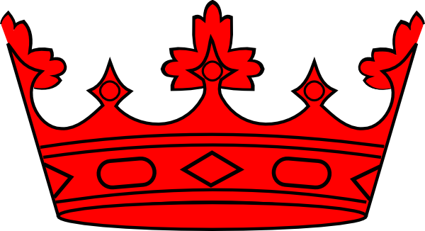 Red crown png. Clip art at clker