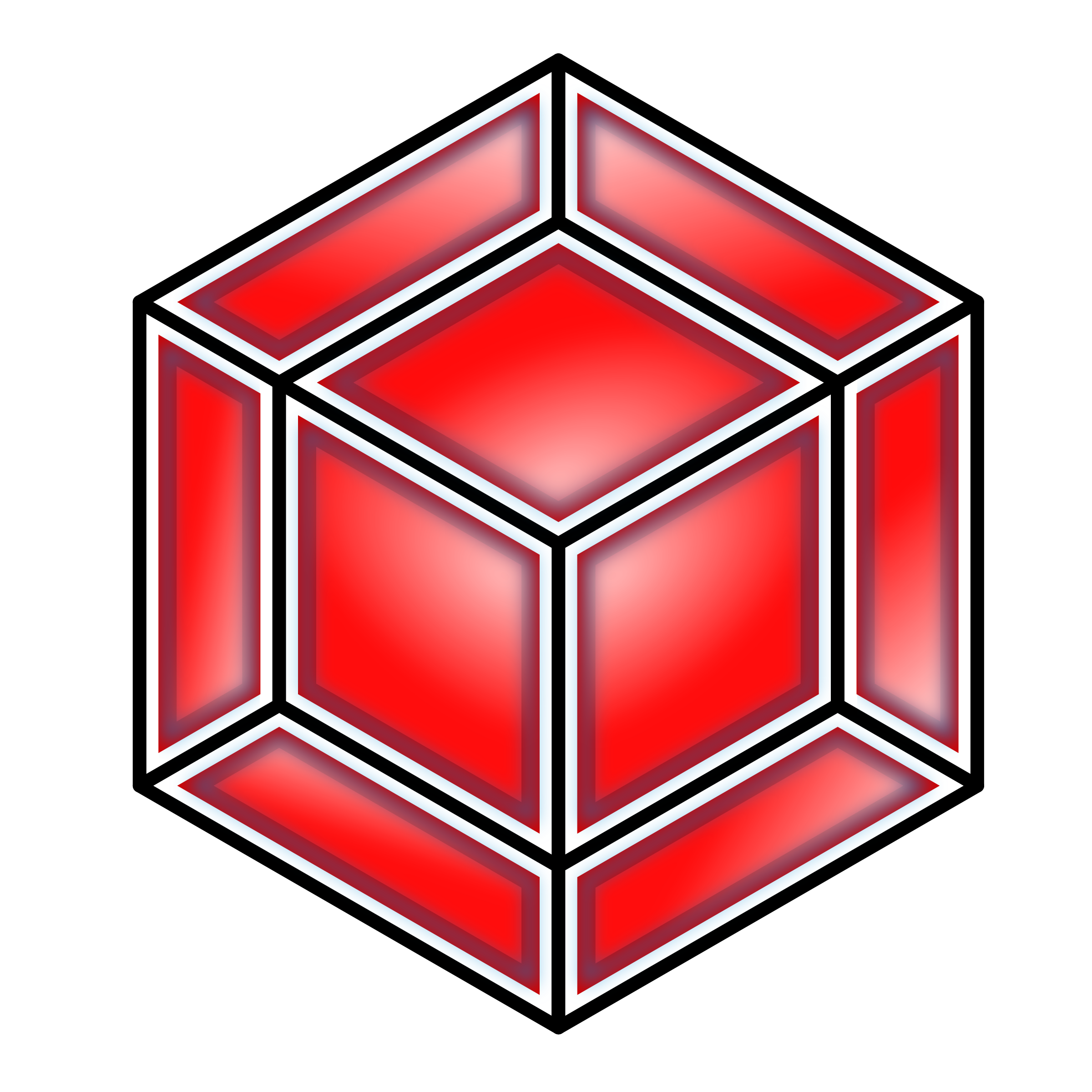 Red cube png. Hyper icons free and