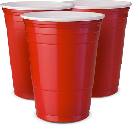 Red cup png. Party original pacote unidades