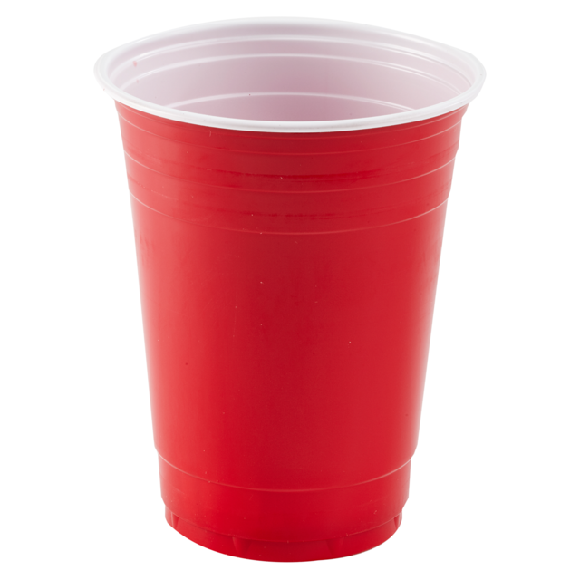 red plastic cup png