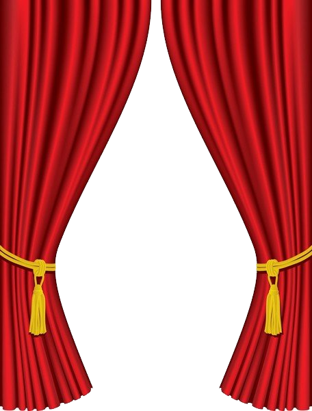Red curtain background png. Curtains