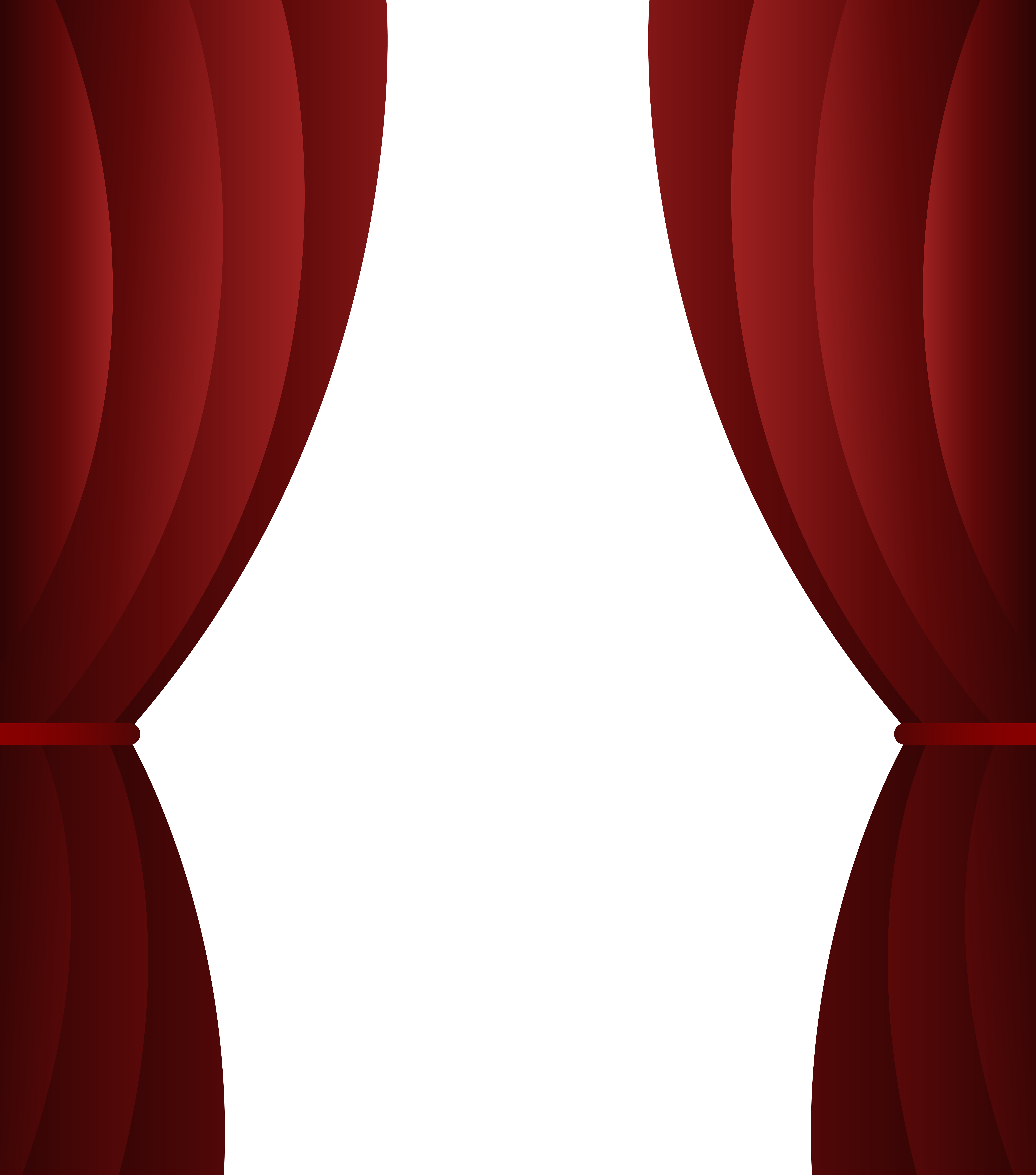 Drapery clip ball. Red curtain transparent png