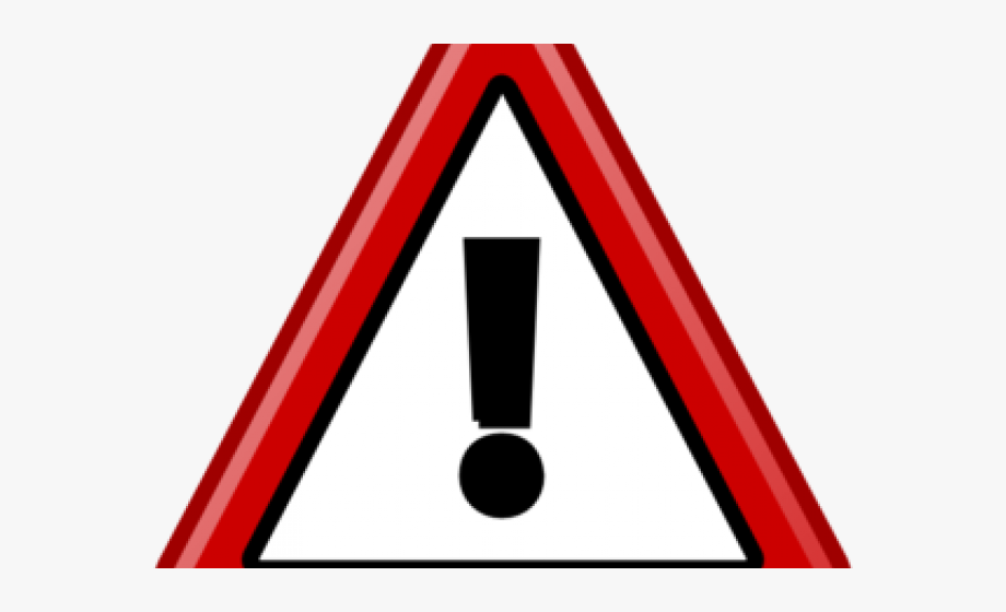 Red danger. Emergency clipart symbol achtung