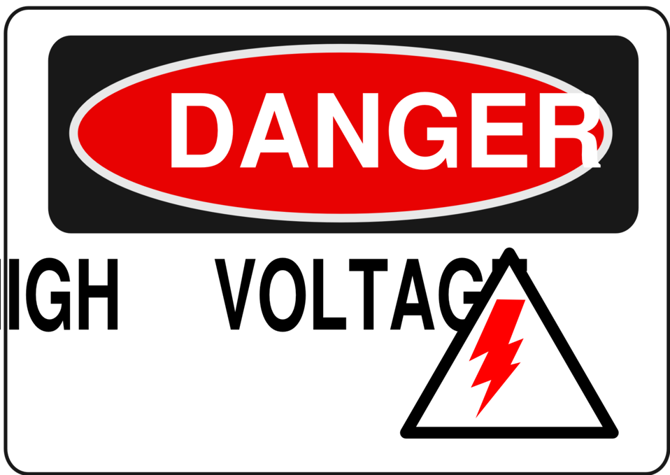 Red danger. Clipart transparent free for