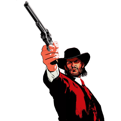Red dead redemption png. Revolver playstation xbox others