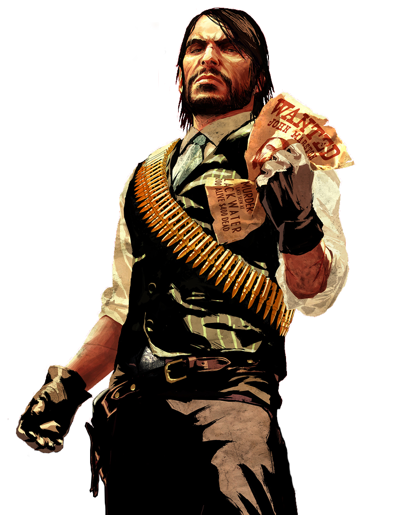 Red dead redemption png. Image john marston wiki