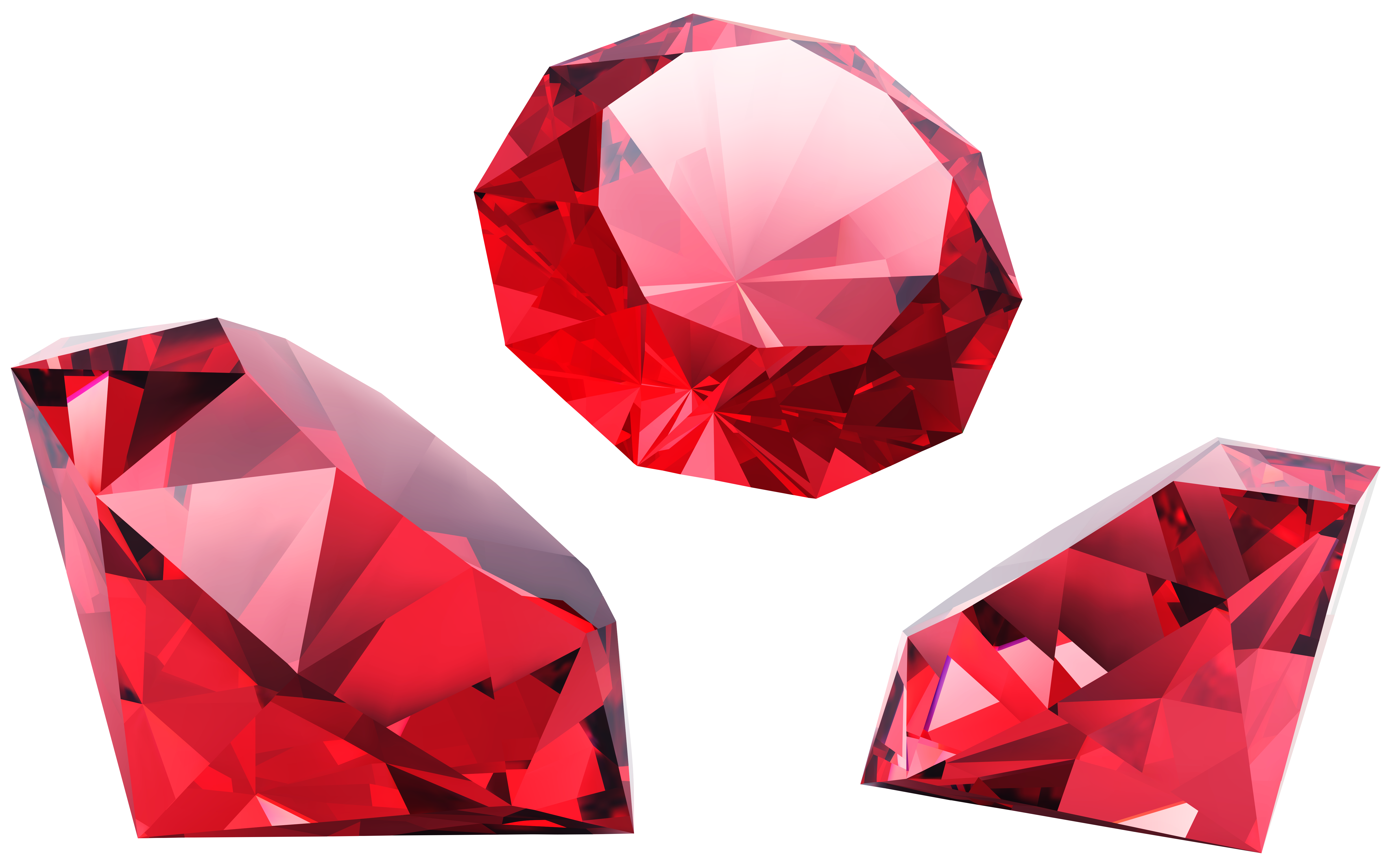 Red diamond png. Diamonds clipart image gallery