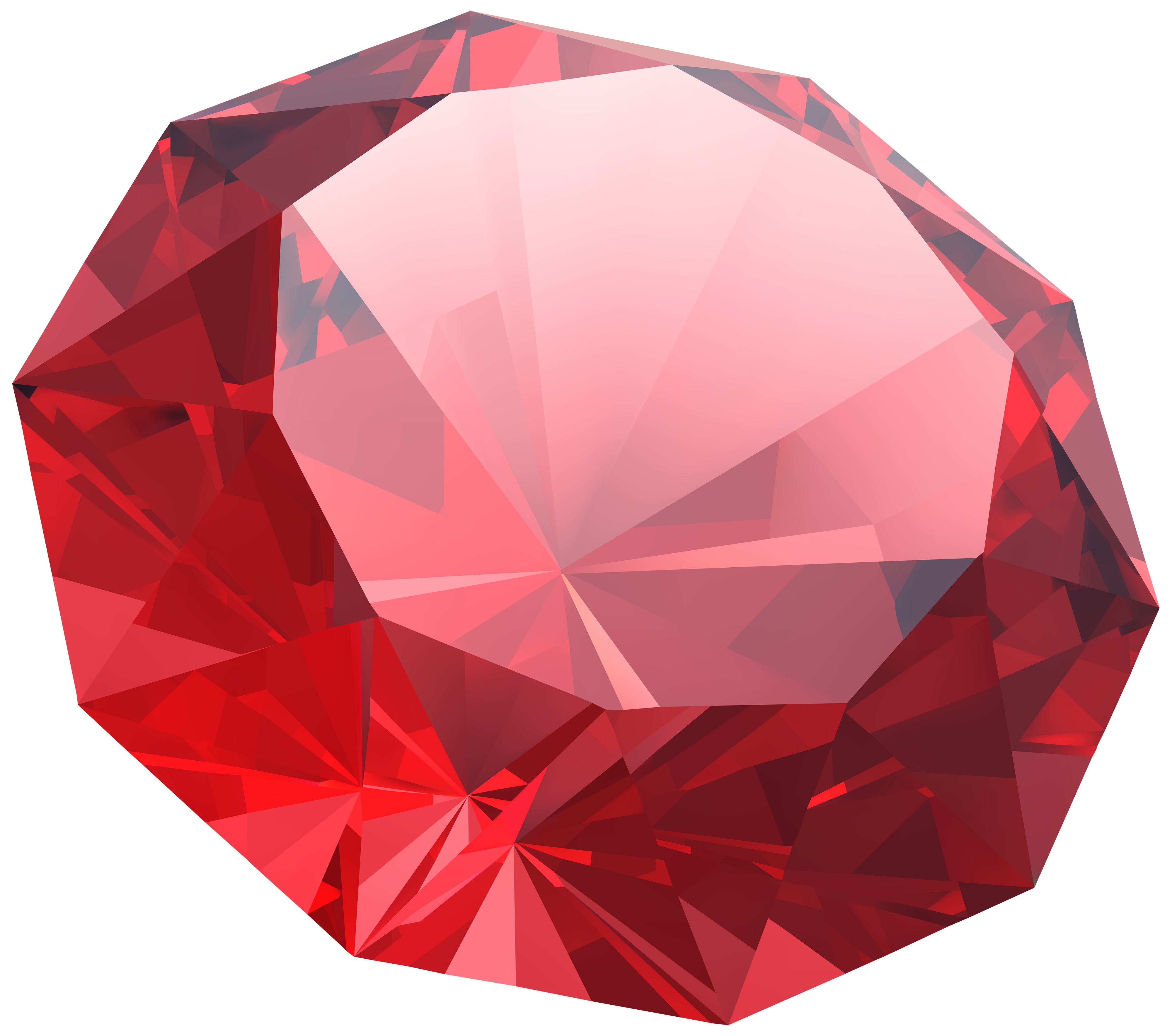 Gemstone vector red jewel. Diamond png clipart image