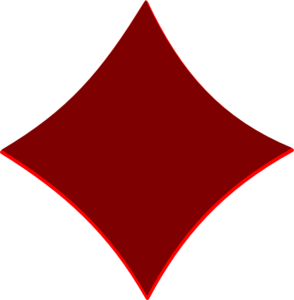 Red diamond shape png. Maroon clip art at