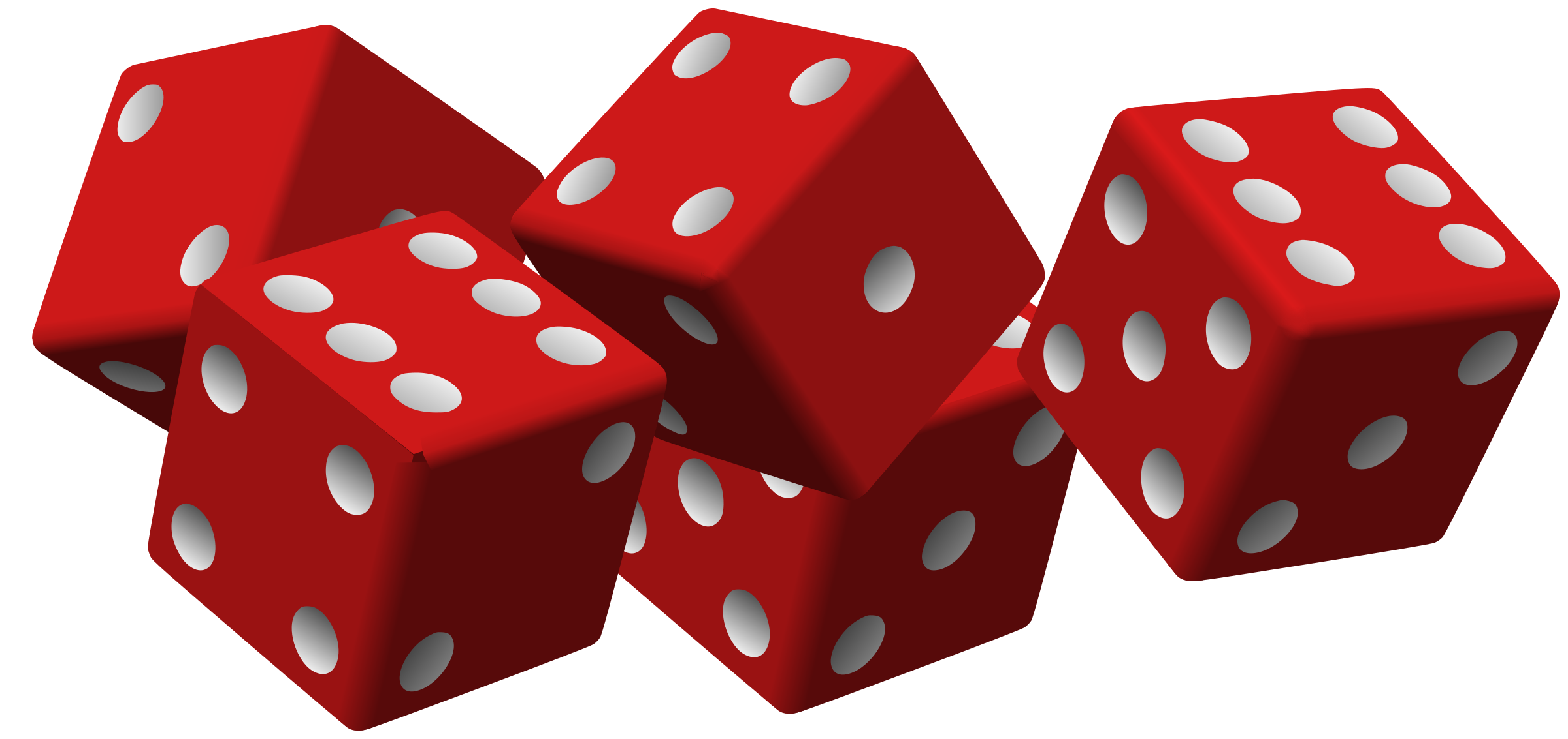 Red dice png. Five icons free and
