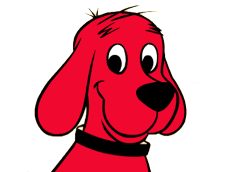 clifford the big red dog png