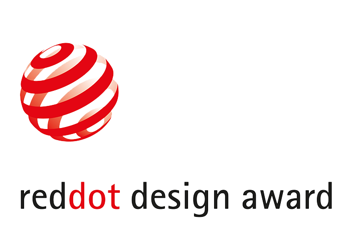 award transparent red