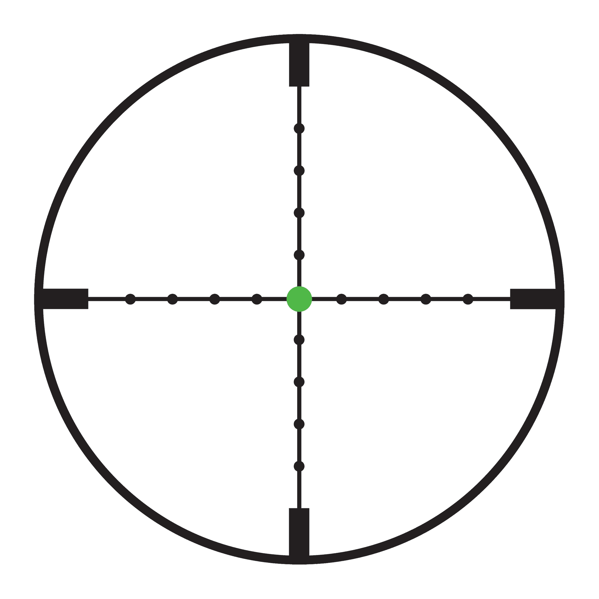 Trijicon accupoint x mm. Red dot crosshair png svg royalty free stock