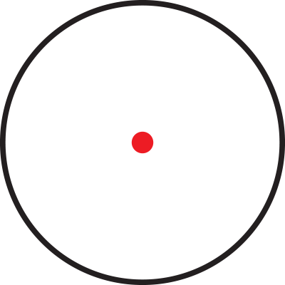 Red dot crosshair png. Reticle overview ncstar com