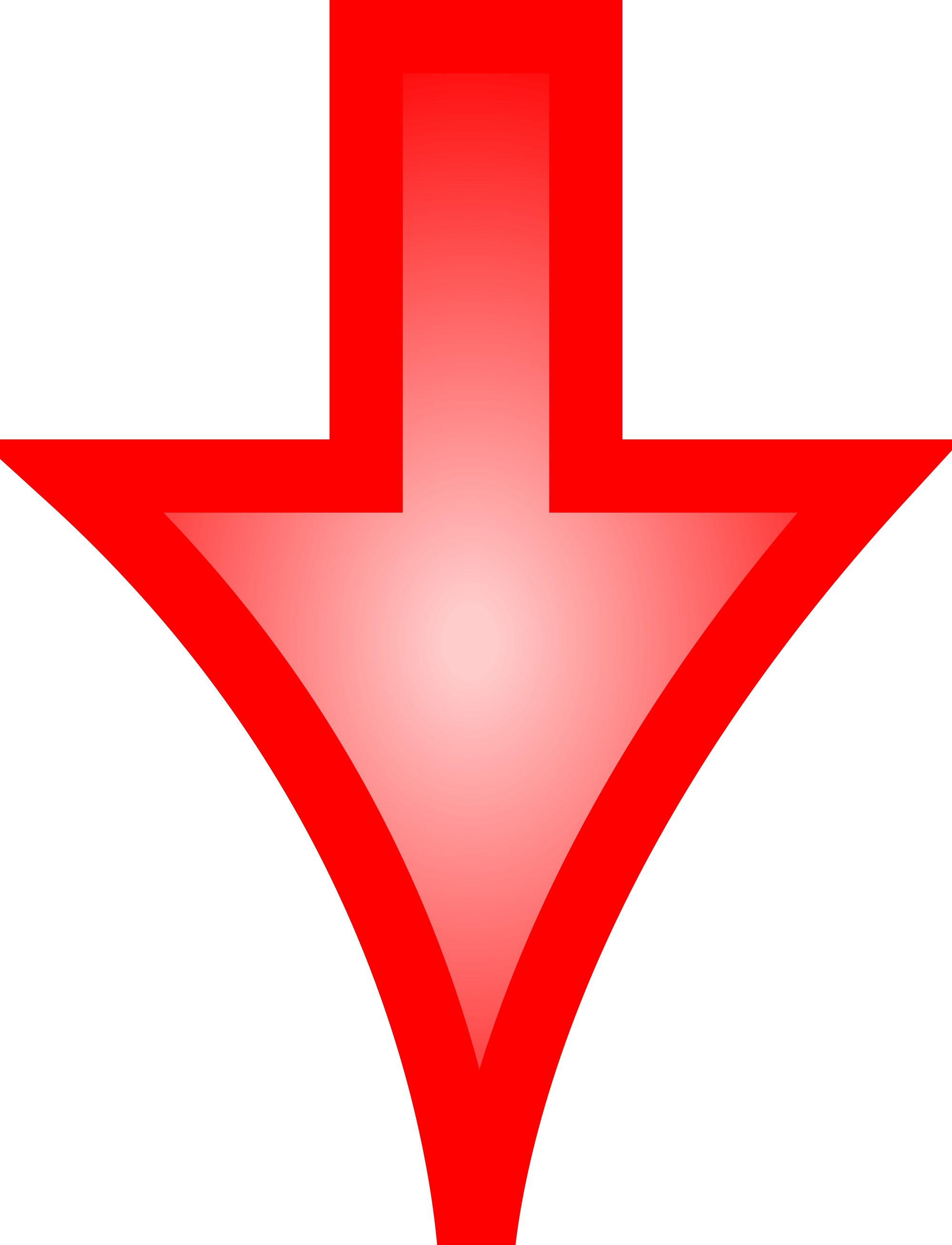 Arrows pointing down png. File arrow red svg
