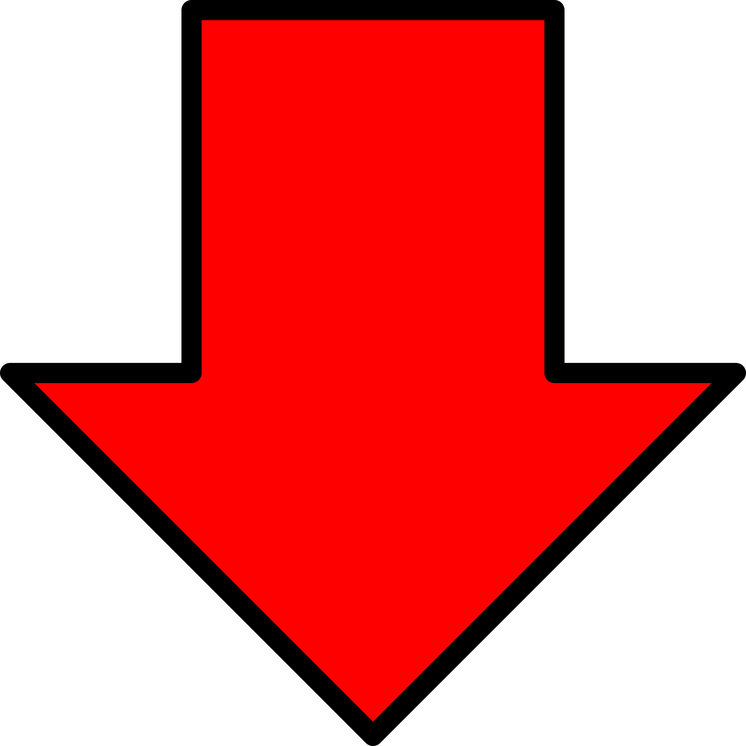 Red down arrow png. Icons free and downloads
