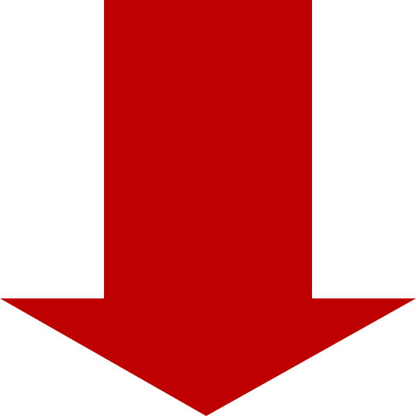 Red down arrow png. Clip art at clker